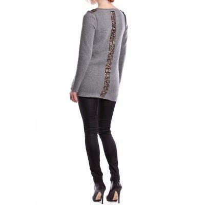 Valerie - Serena Sweater Grey - Kotyr.com