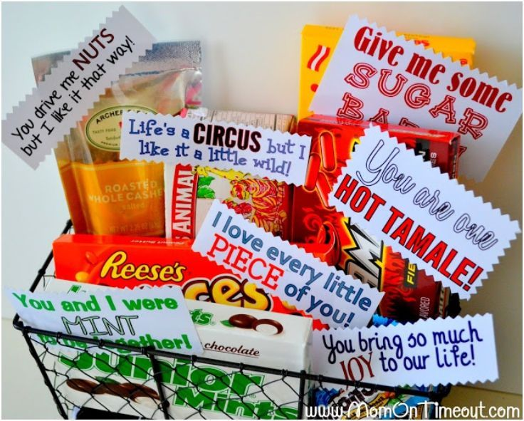 Candy Basket Valentine S Pinterest Gifts Valentines And