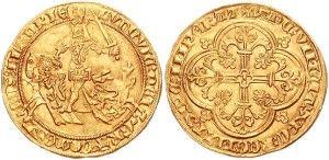 """франки — золотые монеты с изображением короля и латинской надписью FRANCORUM REX (с лат. король франков).""""конный"""" франк"""