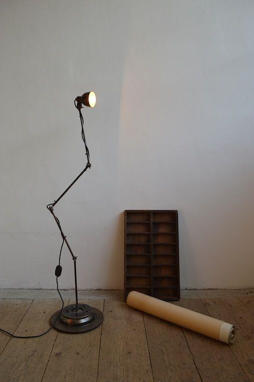 Industrial floor lamp (artKRAFT Original Industrial Furniture)