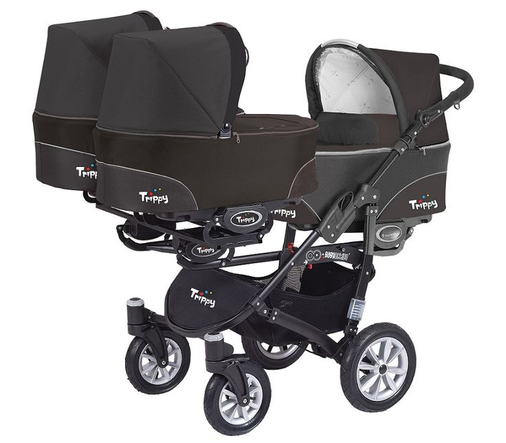 NEW TRIPPY Baby Pram - Travel System 3in1 available in 6 colours. Perfect solution for triplets or twins + toddler http://supremebabyproducts.co.uk/prams-pushchairs/twin-tandem