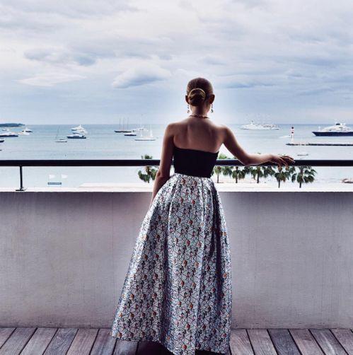 Kristina Bazan au Martinez http://www.vogue.fr/mode/inspirations/diaporama/cannes-2016-le-festival-de-cannes-sur-instagram/33850#kristina-bazan-au-martinez