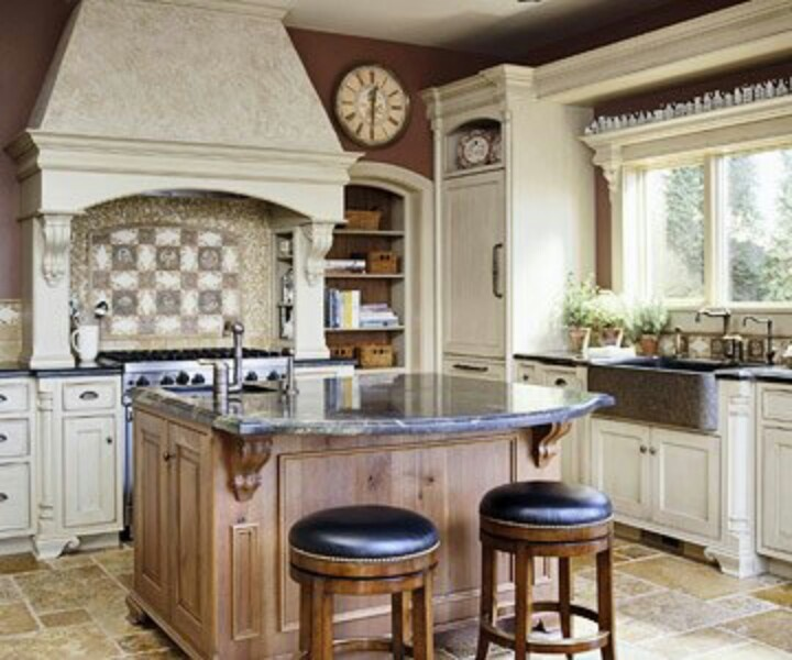 Tuscan Style Kitchen Cabinets: 11 Best Tuscan Bathroom Images On Pinterest