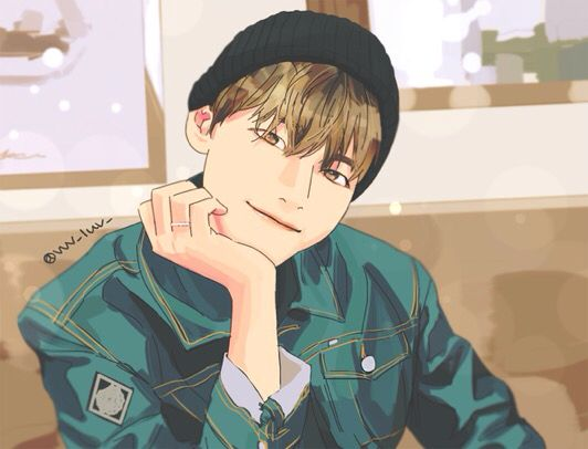 BTS Taehyung V fan art