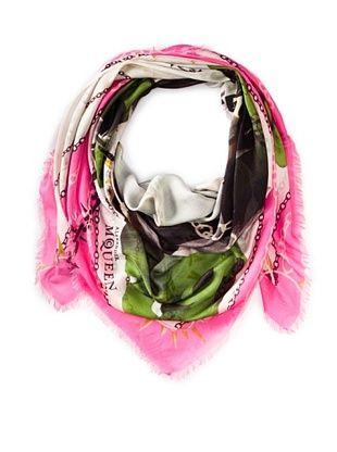 19% OFF ALEXANDER MCQUEEN Women's Scarf, Pink