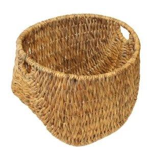 Water Hyacinth Twisted Weave Basket Medium: Amazon.co.uk: Kitchen & Home