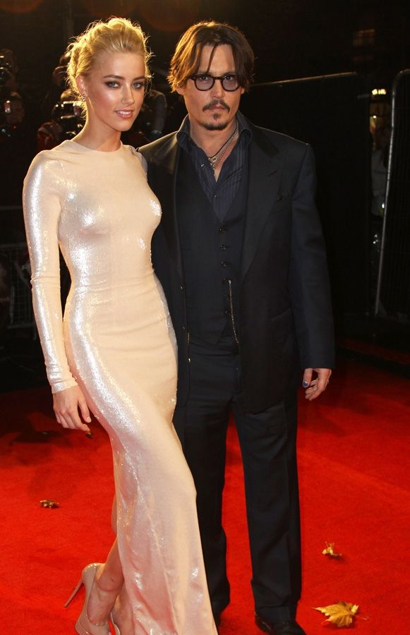Johnny Depp Amber Heard The Rum Diary - European Premiere