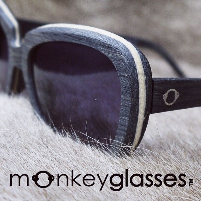 What are the glasses made of? MonkeyGlasses are made of acetate- a special kind of plastic that consist of approximately 90% cotton flowers and wood.