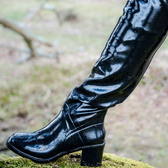 4 Acquo Boot Gummistiefel Lederstiefel Regenstiefel