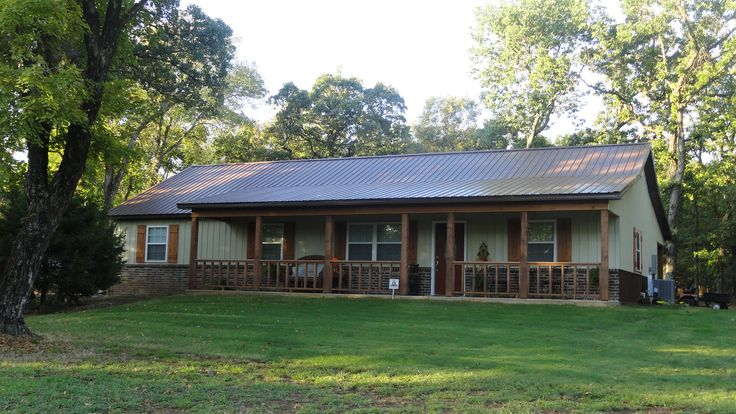 Home With Metal Siding And Roof National Barn Company