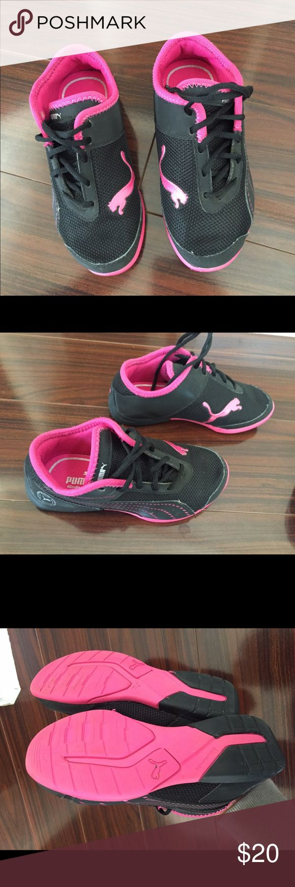 Puma girls shoes Puma girls shoes in excellent condition, used one time! Puma Shoes Sneakers