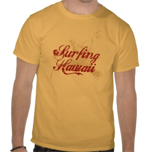 Surfing Hawaii T-shirt