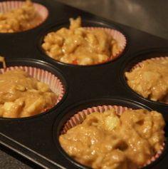 Appel yoghurt muffins (suikervrij, tarwevrij)