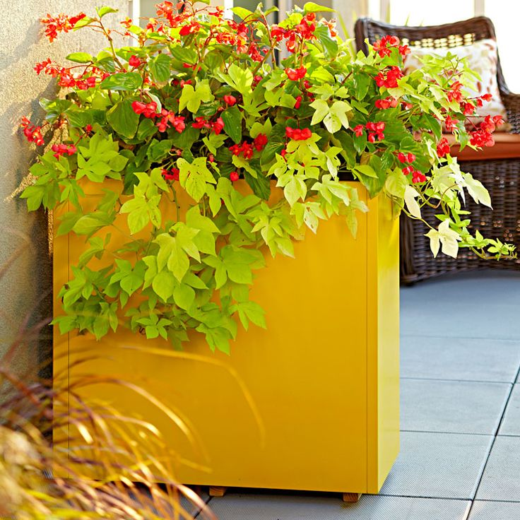 Transform An Old Metal Filing Cabinet Into A Striking Planter. Lowes  CreativeCreative IdeasMetal ...