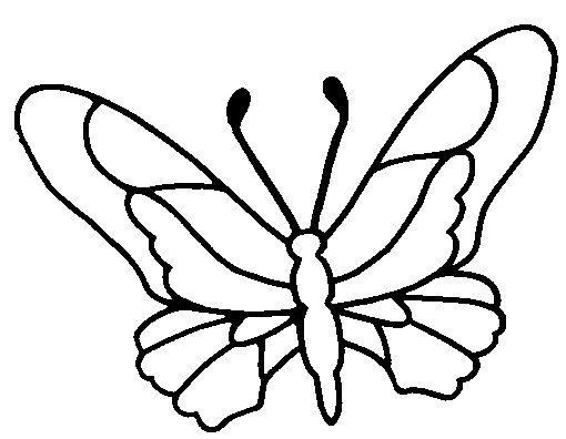 44 best farfalle disegni images on Pinterest | Butterflies ...