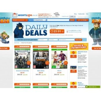 Save up to 83% OFF Sale on Cheap Xbox One Games @ Mighty Ape NZ - Bargain Bro