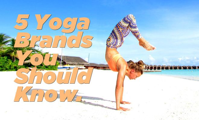 Here are 5 yoga yoga clothing brands you need to know about. Watch out Lululemon, these companies are on to you. Liquido Active Liquido Active is based out