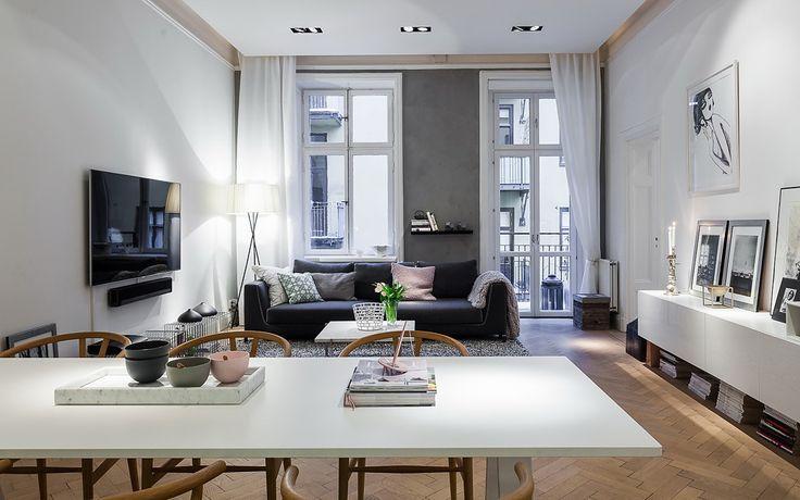 Binnenkijken   Scandinavische stijl ingericht appartement • Stijlvol Styling - Woonblog