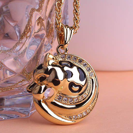 Иллюминаты мода Esmalte стимпанк тигр ожерелье кулон и колье ожерелье мужчин ювелирные изделия виолетта парфюмерия для женщин сгвпоон великобритании