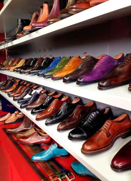 eleganza & stile, per uomini: Andrés Sendra shoemaker. #AndresSendra #brogue…