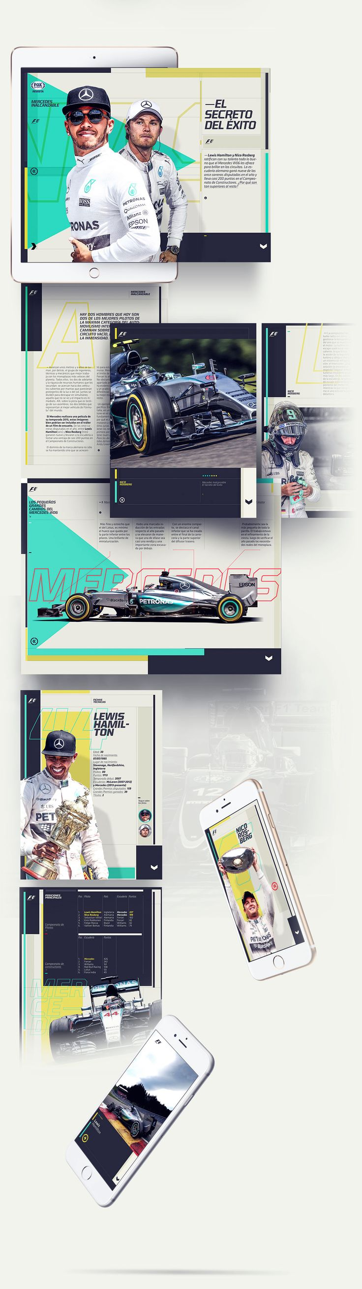 Fox sports digital magazine on behance
