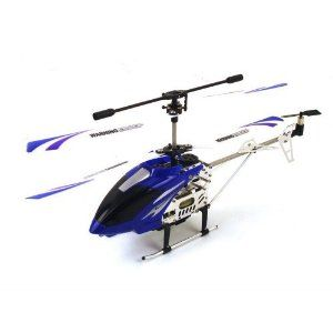 (Colors May Vary) Electric Medium Size GYRO Metal Frame 3.5CH CAMERA RTF RC Helicopter by remote control helicopters. $69.99. Electric Powered 3.5 Channel, Metal Helicopter Frame. Gyroscope, Built In High Resolution Video Capturing Camera AVI Video Format 640 X 480 P. Height: 6.3 Inches, Charging Time: 100 Min., Flight Time: 8-15 Min.. Flashing LED Lights, Ready to Fly, Colors: Desert Camo, Blue, Red, Length: 15 Inches. Package Includes:  Helicopter 1GB Micro SD Card US...