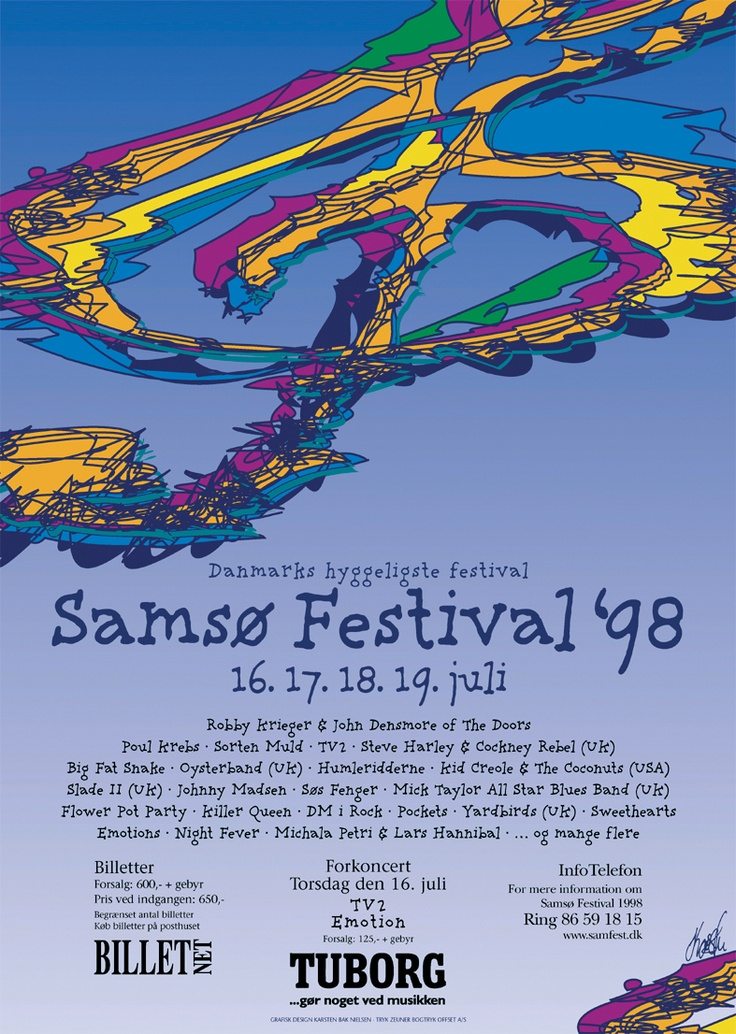Samsø Festival 1998