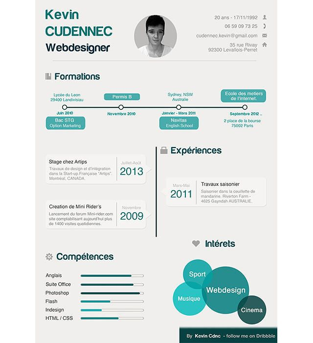 The 25+ best Infographic resume ideas on Pinterest What is a cv - good resume layouts