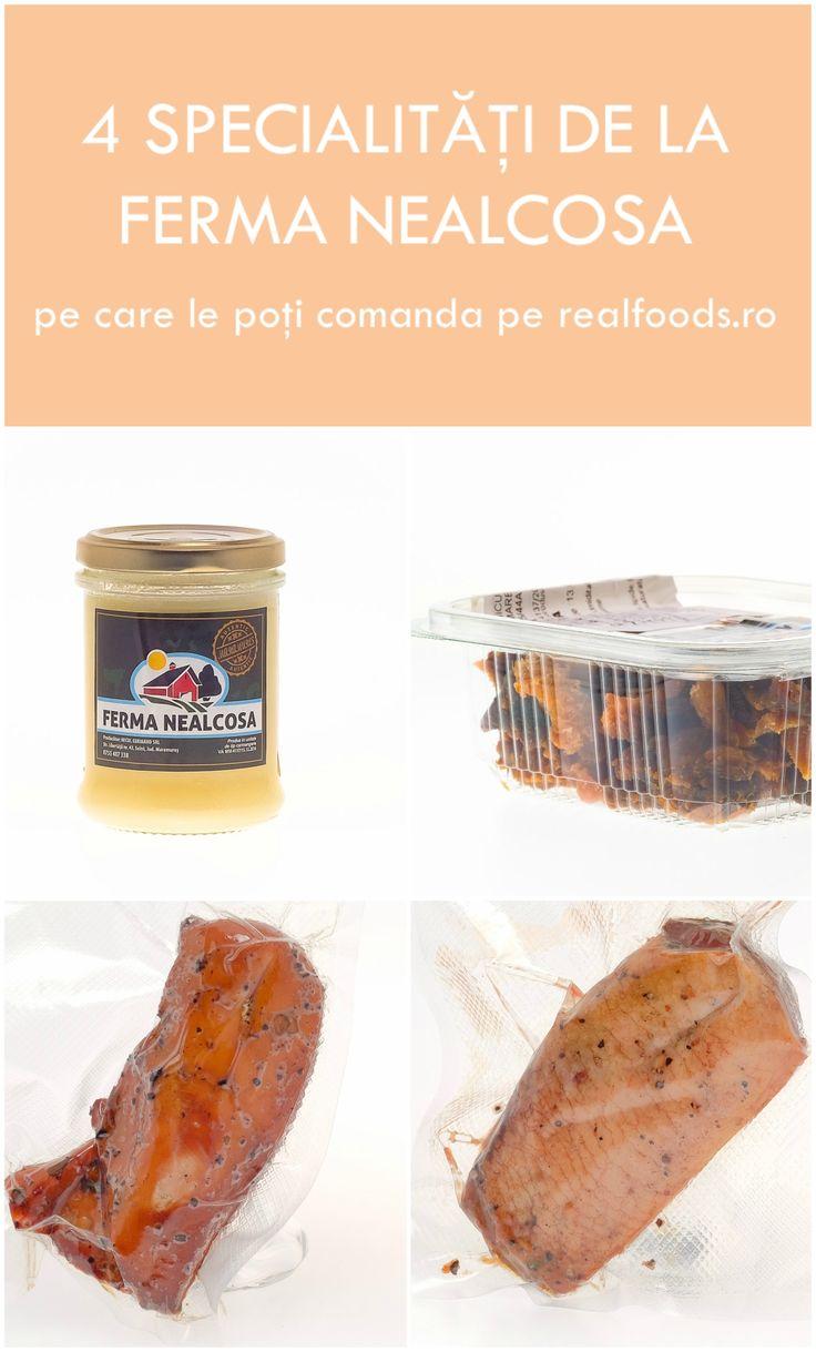 Untură de rață, jumări de rață, piept de rață afumat și piept de pui afumat sunt doar câteva dintre specialitățile disponibile acum pe http://realfoods.ro/ de la Ferma Nealcosa, ideale pentru masa cu prietenii în weekendul prelungit.
