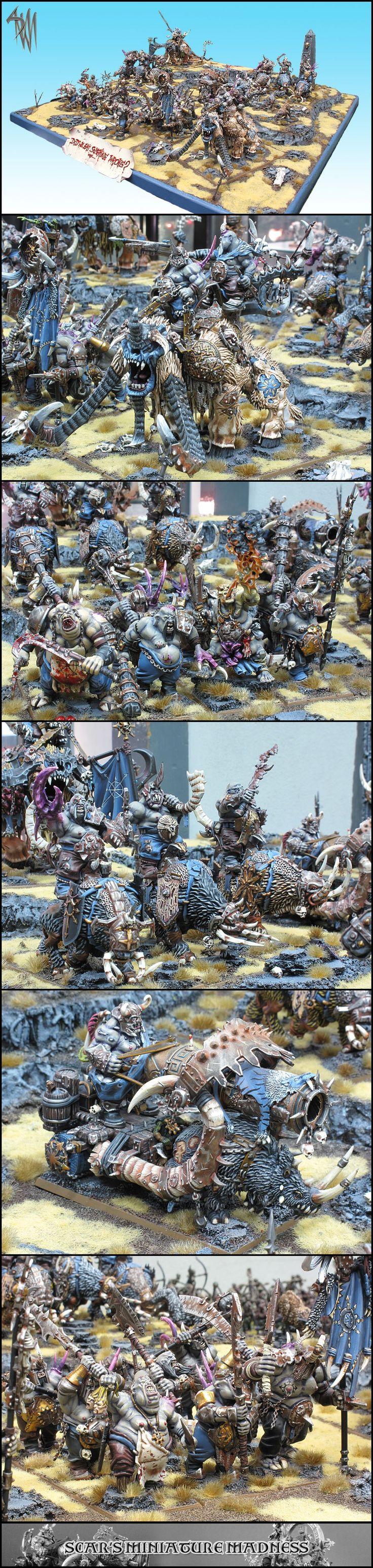 And Winner Is >> Winner Of Armies On Parade 2012 Netherlands | warhammer ogor kingdom | Pinterest | Miniaturas y ...
