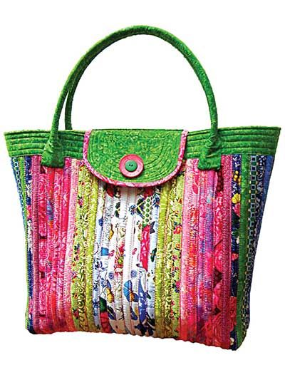 Quilted Knitting Bag Pattern : Best images about quilted handbag tote patterns on