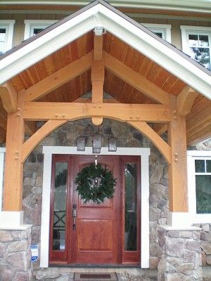 Tamlin Provides Our Customers With Quality Exterior Doors With Every Timber  Frame House Package.