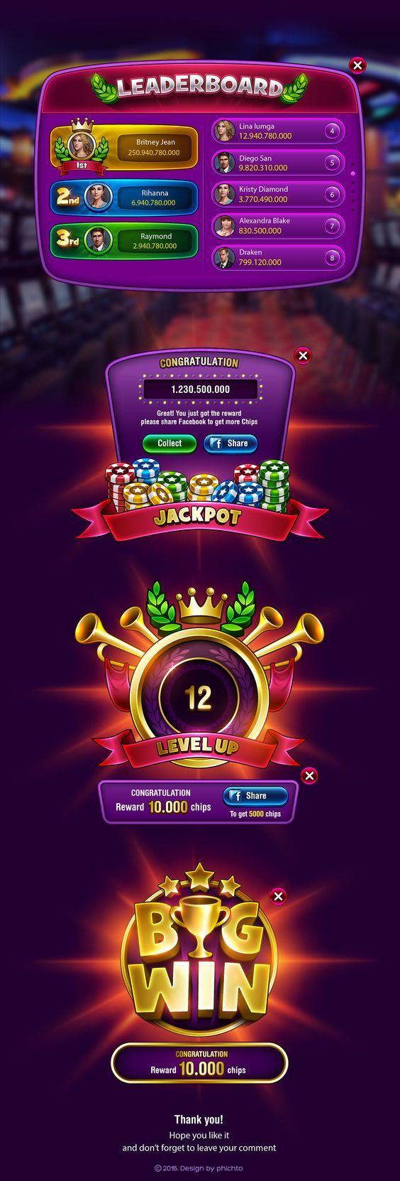 The New Video Poker & Blackjack 2.0 on Behance: