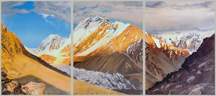 Buy Peak of Vorobiov, triptych, Oil painting by Valeriy Grachov on Artfinder. Discover thousands of other original paintings, prints, sculptures and photography from independent artists.
