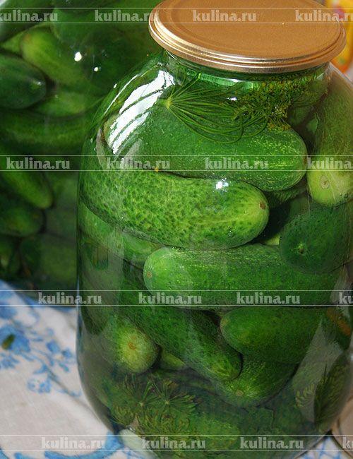 Соленые огурцы по-домашнему - рецепт с фото