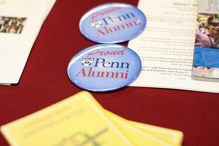 Proud Penn Alumni pins