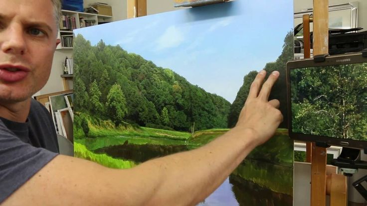 HOW TO PAINT AWESOME TREES PART III
