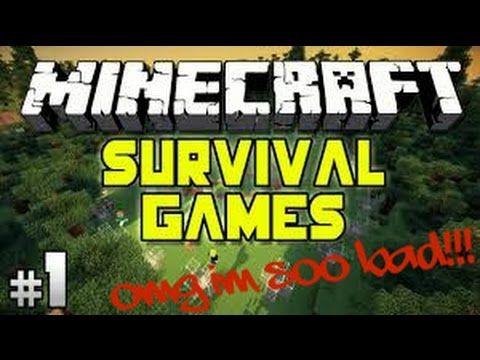 Minecraft Survival Games: OMG I`M SOO BAD!!!!!!!