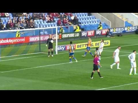 Shrewsbury Town vs Northampton Town - http://www.footballreplay.net/football/2016/10/22/shrewsbury-town-vs-northampton-town/