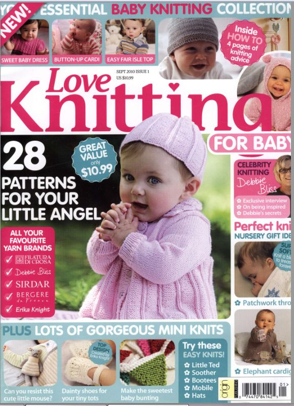 Love of Knitting for Baby I only have September 2010