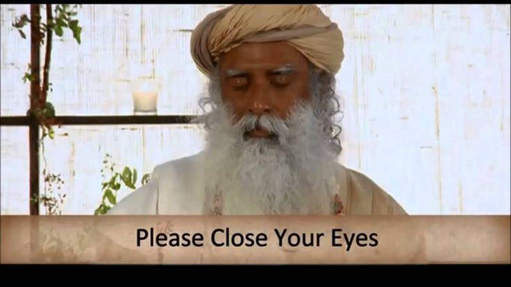 Sadhguru - Isha Kriya Yoga Meditation (Guided Meditation) | Meditation E...