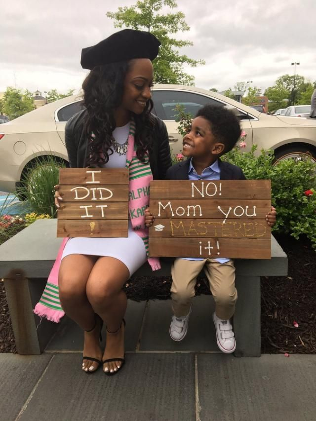 7d1273a6d5b Mom And Son Inspire Thousands With Creative Graduation Photo ...