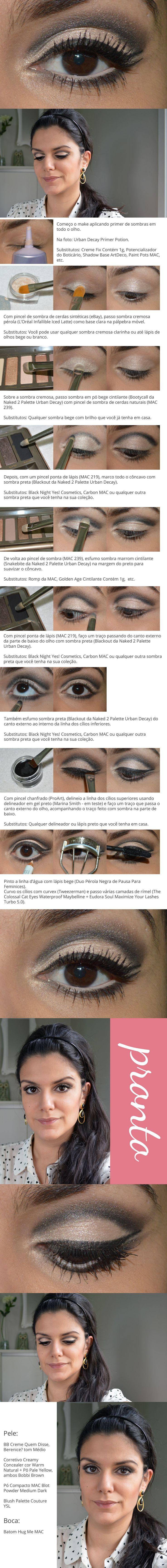 Mais um tutorial pro Carnaval (que serve pro ano todo): http://www.2beauty.com.br/blog/2014/02/27/tutorial-retro/ #maquiagem #makeup #tutorial #carnaval