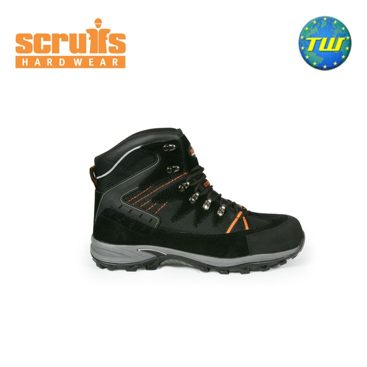 http://www.twwholesale.co.uk/product.php/section/10254/sn/Scruffs-Meteor-T50906 Scruffs Meteor boot is a hiker styled safety boot that offers high levels of comfort with its sports sole and padded collar & tongue, whilst offering durability with double stitching on stress points.