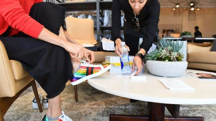 Department store chain Nordstrom is experimenting with a new concept store where you can meet with a personal shopper, get a manicure and down a beer.