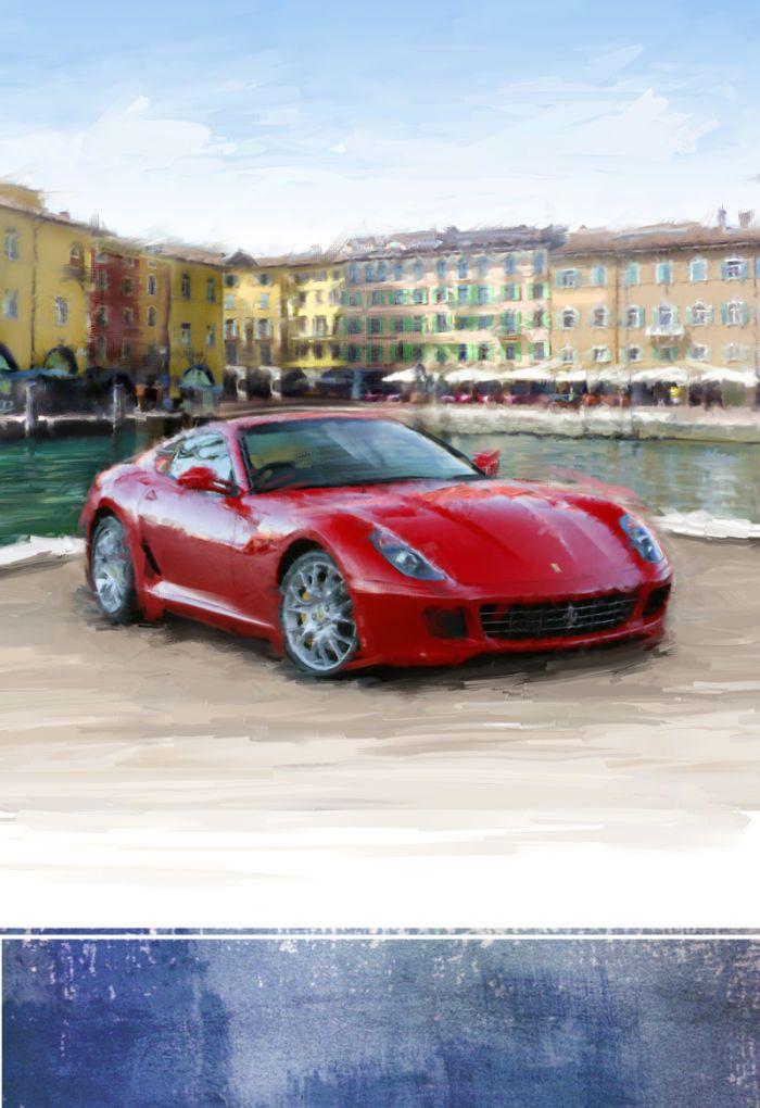 Harrison Ripley - Ferrari Med Scene