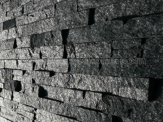 Image result for black stone veneer siding