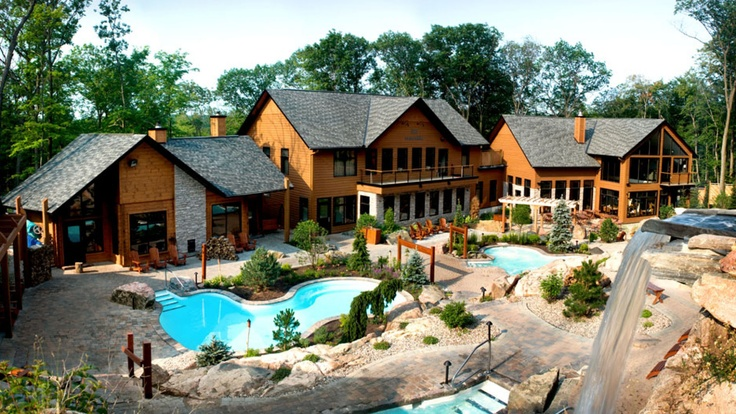 Le Nordik Spa in Chelsea Quebec (15mins from Ottawa). Love this place! Will be going once a month! Great during the summer, winter, and @ night.