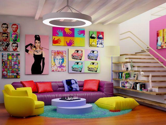 Oltre 25 fantastiche idee su arredamento per la casa stile for Arredamento stile anni 70