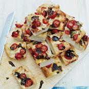 Jamie's Tomato and Basil Focaccia recipe